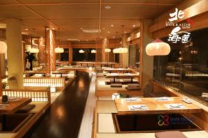 Thưởng thức ẩm thực trong không gian đậm chất Nhật ở TP HCM