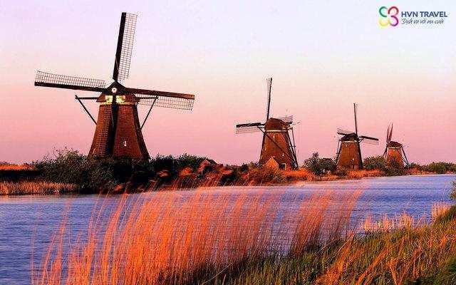 Cối xay gió vùng Zaanse Schans