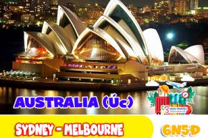 SYDNEY – MELBOURNE (7N-6D)