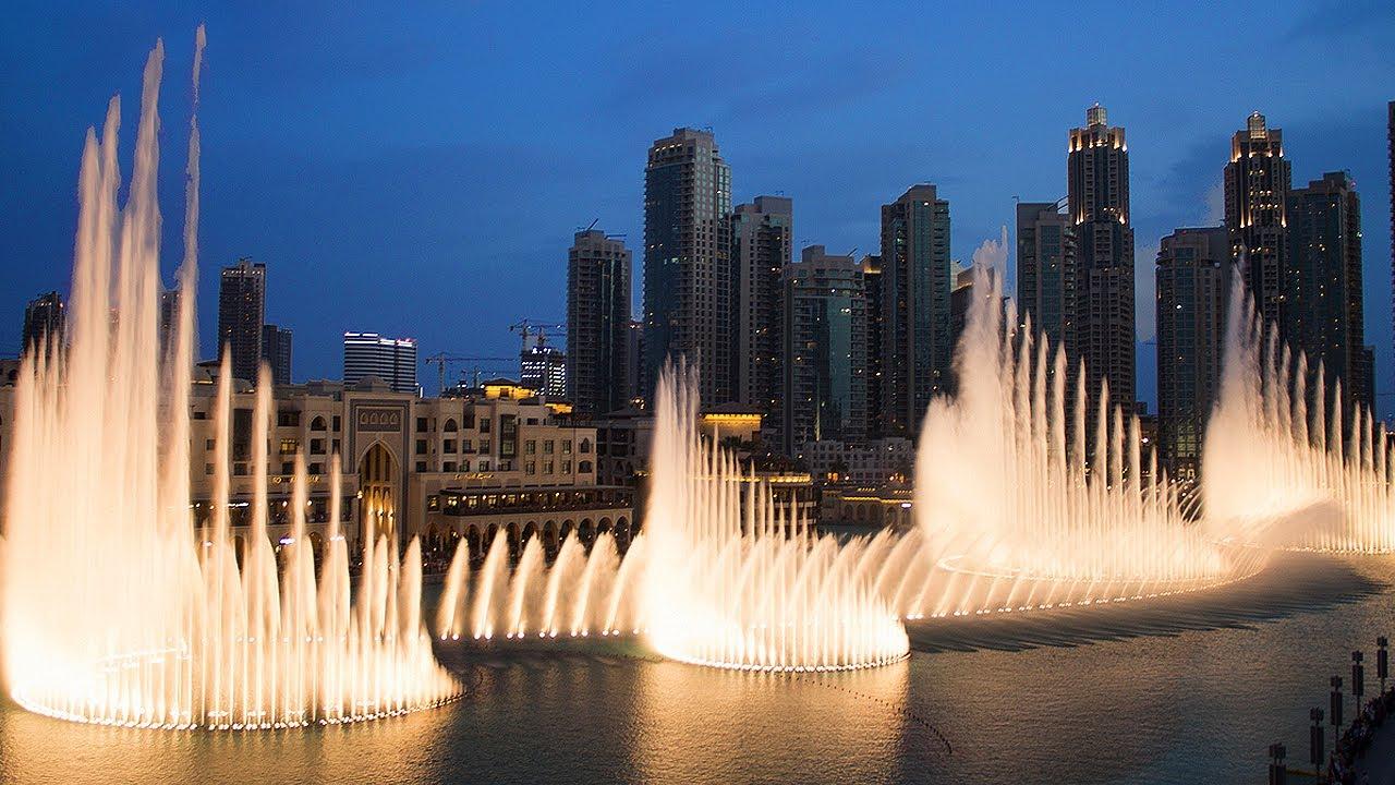 Image result for Đài phun nước Dubai