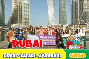Tour dubai 6 ngày 5 đêm HVN TRAVEL Chuyên Tour Dubai