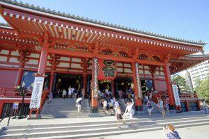 Đền thờ Asakusa Kannon – Chùa Senso-ji