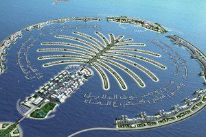 Chiêm ngưỡng sự kỳ vĩ của Đảo Cọ  Palm Island nhân tạo tại Dubai